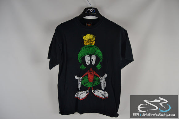 Looney Tunes Marvin The Martian Black Men's Medium T-Shirt