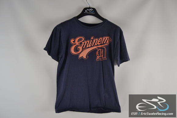 Anvil Eminem Detroit #8 Blue / Orange Men's Medium T-Shirt