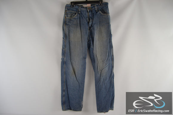Faded Glory Carpenter Blue Jeans Men's 32x32 Warm Lined Pants