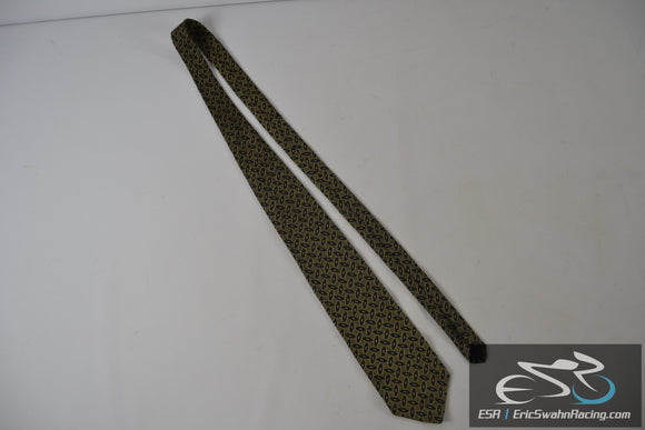 Geoffrey Beene New York Classic Yellow / Green Men's Neck Tie
