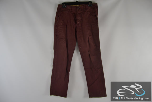 Gap The Lived-In Straight Purple / Red Men's W30 L30 Pants