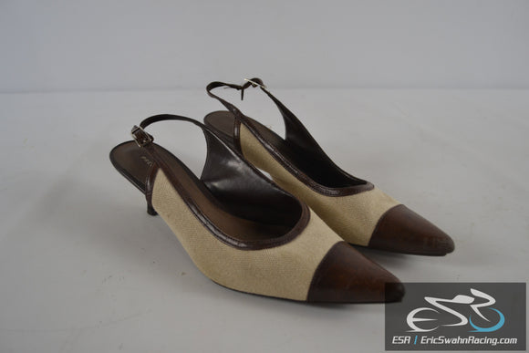 Predictions Tan / Brown Women's Size 8 Shoes Heels