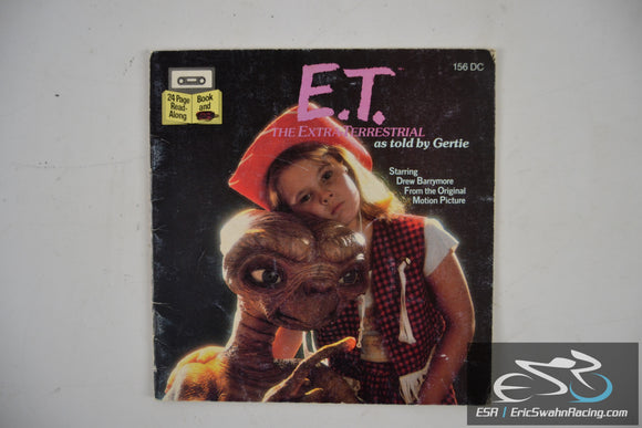 E. T. The Extra Terrestrial Paperback Read Along Book Only 1982