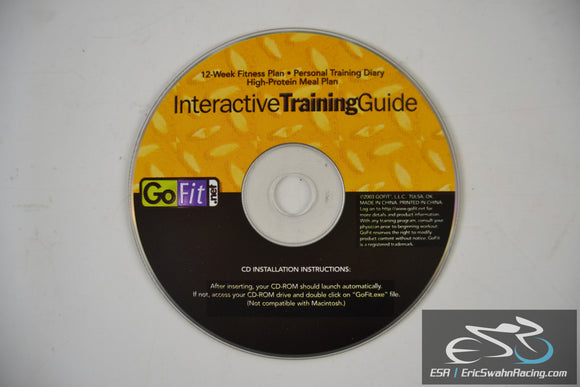 Interactive Training Guide CD - 12 Week Fitness Plan by GoFit