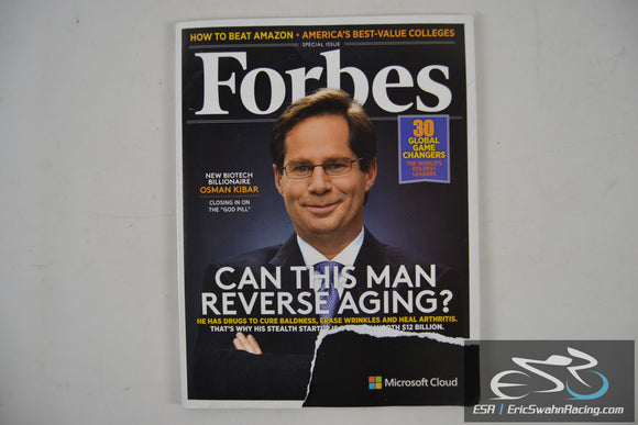 Forbes Magazine - Can This Man Reverse Aging? V197.6 May 2016