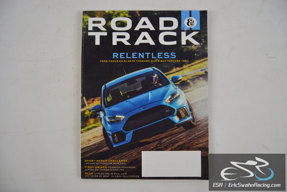 Road & Track Magazine - Relentless V68.4 November 2016