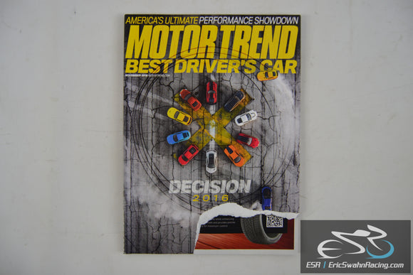 Motor Trend Magazine - Best Driver's Car V68.11 November 2016
