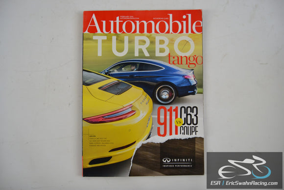 Automobile Magazine - Turbo Tango V30.11 February 2016