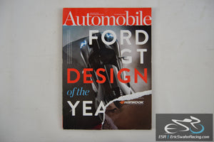 Automobile Magazine - Ford GT Design Of The Year V30.10 January 2016
