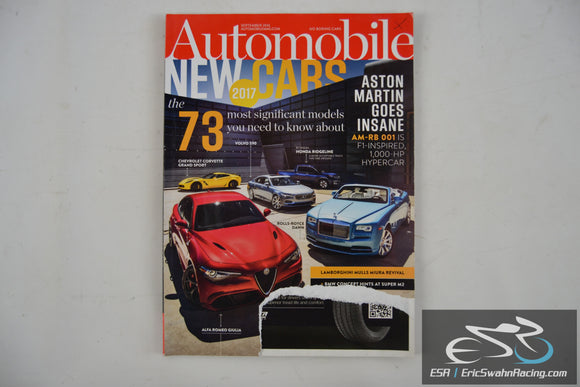 Automobile Magazine - 2017 New Cars V31.6 September 2016