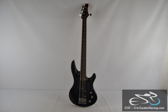 Samick Artist Series 5 String Bass Guitar Black / Wood Neck