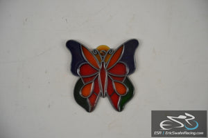Colorful Butterfly Window Cling Suction Cup Decoration