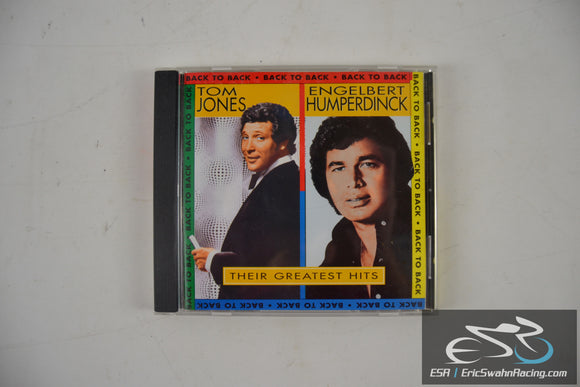 Back to Back: Their Greatest Hits Audio CD 1994 Tom Jones, Engelbert Humperdinck