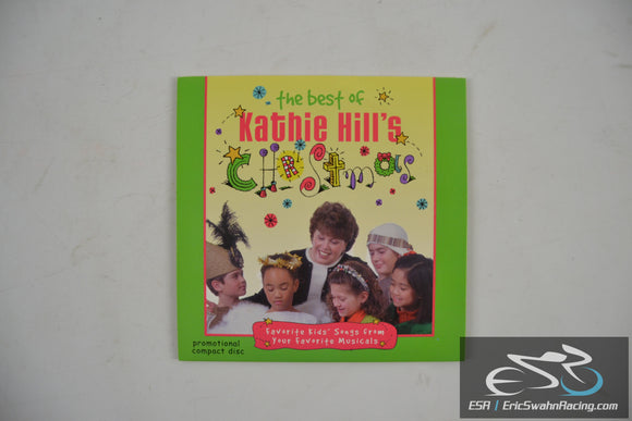 The Best Of Kathie Hill's Christmas Promo Audio CD 2004 World Music