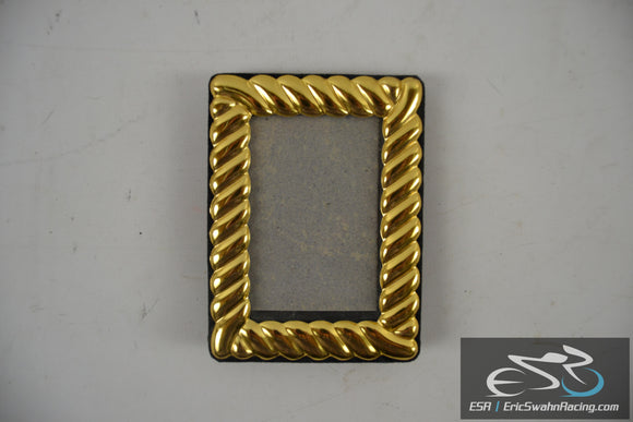 Small Gold Picture Frame 3x4