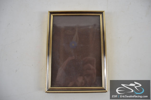 Gold / Brown Picture Frame Fits 7x5