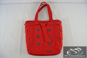 Ogio Women's Red Large Sturdy Purse, With A Laptop Pocket