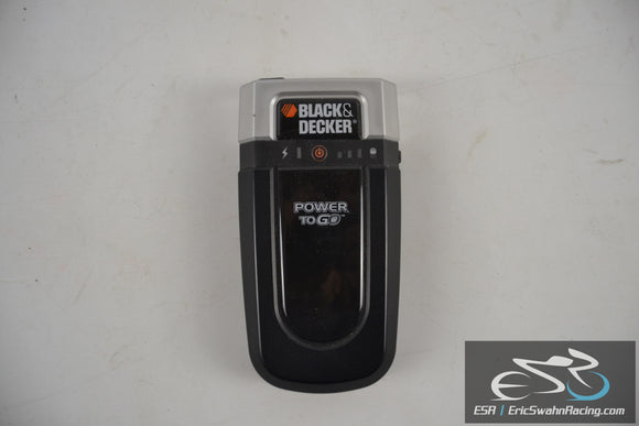 Black & Decker Power To Go Portable Battery Charger CPI20XB 350mA