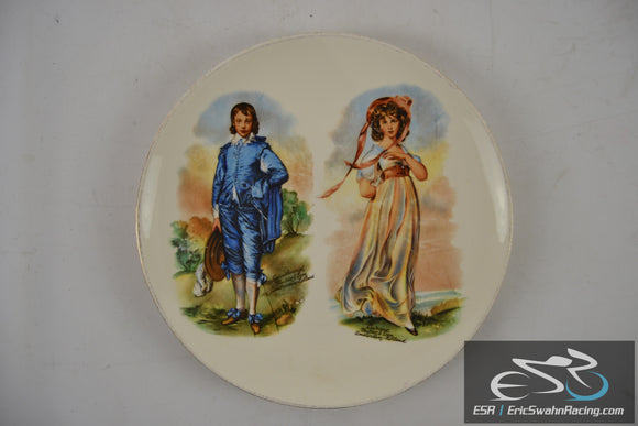 Rhythm by Homer Laughlin Amsterdam Holland Decorative Dinner Plates
