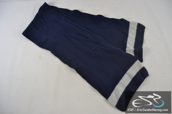 Calvin Klein Blue / Grey Lambswool Scarf Scarve