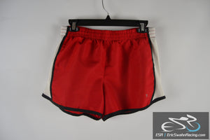 Danskin Now Women's Red / White Medium Size 8-10 Workout Athletic Shorts