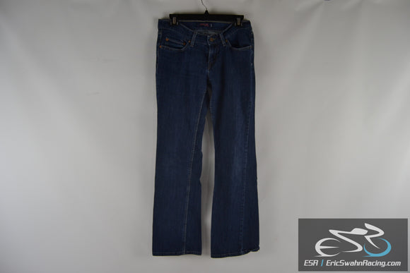 Levi's Curvy Cut 528 Jeans Women's Blue Pants Medium Size 9