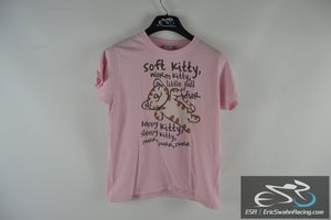 Gildan Soft Kitty Big Bang Theory Women's Pink Medium T-Shirt