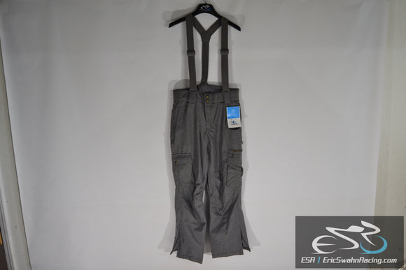 Millennium Three M3 Aquabase Elite Men's Medium Grey Suspender Snow Pants