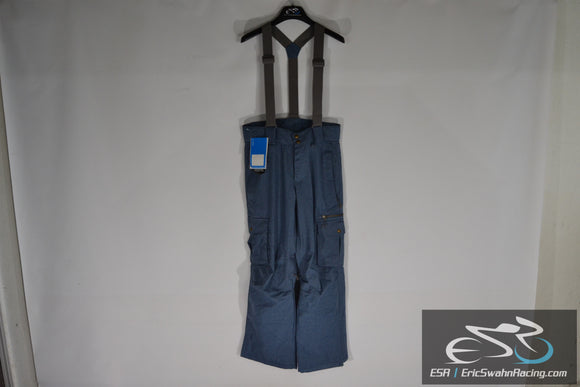 Millennium Three M3 Aquabase Elite Men's Medium Blue Suspender Snow Pants