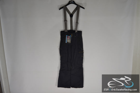 Millennium Three M3 Aquabase Elite Men's Small Black Suspender Snow Pants