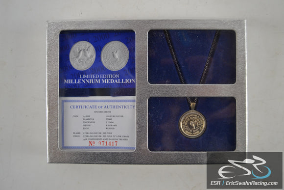 Limited Edition Millennium Medallion Pure Silver
