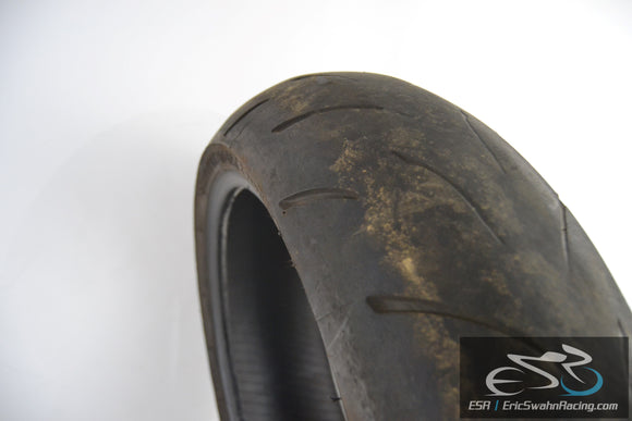 Bridgestone Battlax BT015R Radial M Rear 190/50ZR17 Motorcycle Tire