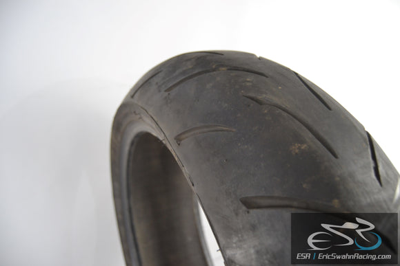 Bridgestone Battlax BT015R Radial G Rear 190/50ZR17 Motorcycle Tire