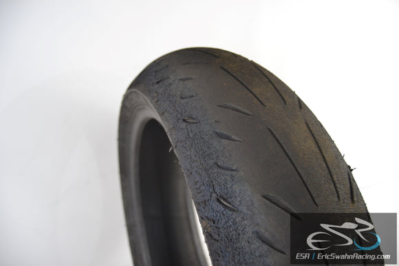 Michelin Power Supersport Rear 180/55ZR17 Motorcycle Tire - 1