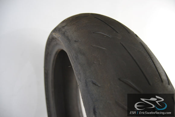 Michelin Power Supersport Evo Rear 180/55ZR17 Motorcycle Tire - 1