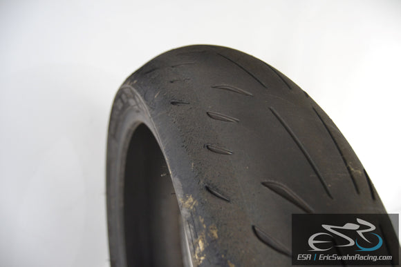 Michelin Power Supersport Rear 180/55ZR17 Motorcycle Tire - 2
