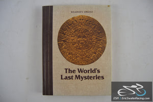 The World's Last Mysteries Hardcover Book 1978 Reader's Digest