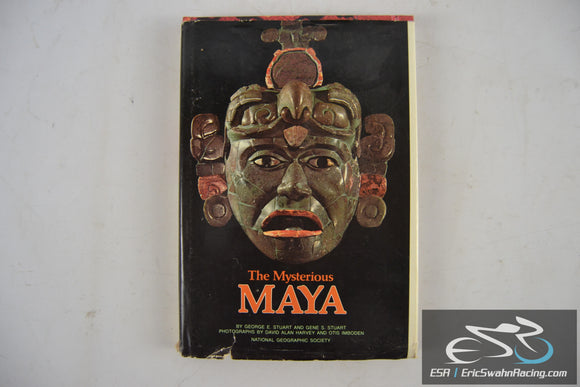 The Mysterious Maya Hardcover Book 1977 National Geographic Society