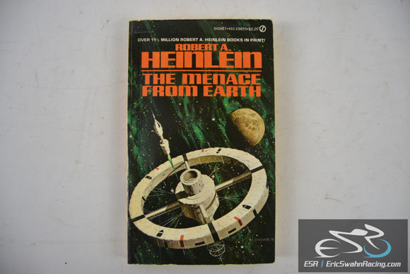 Menace from Earth Paperback Book 1962 Robert A. Heinlein