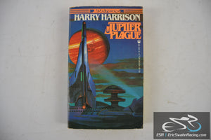Jupiter Plague Paperback Book 1982 Harry Harrison