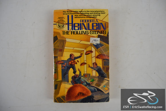 The Rolling Stones Paperback Book 1978 Robert A. Heinlein