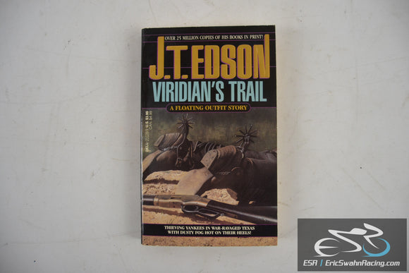 Viridian's Trail Paperback Book 1992 J. T. Edson