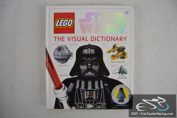 Lego Star Wars - The Visual Dictionary Hardcover Book 2009 Simon Beecroft