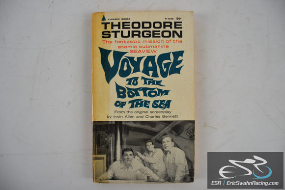 Voyage to the Bottom of the Sea Paperback Book 1961 Theodore Sturgeon