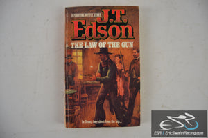 Law Of The Gun Paperback Book 1984 J. T. Edson
