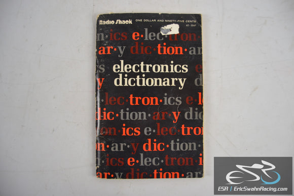 Electronics Dictionary - Radio Shack 1981