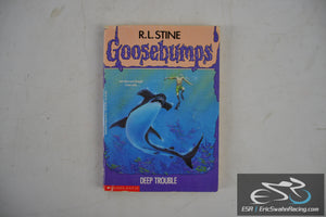 Deep Trouble - Goosebumps Paperback Book 1994 R. L. Stine