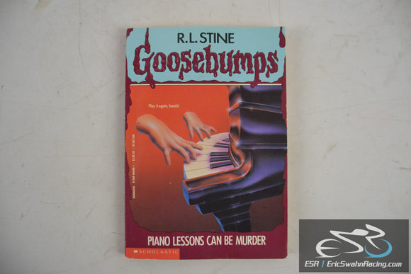Piano Lessons Can Be Murder - Goosebumps No. 13 Paperback Book 1995 R. L. Stine