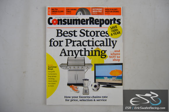 Consumer Reports Magazine - Best Stores for Practically Anything V75.7 July 2010