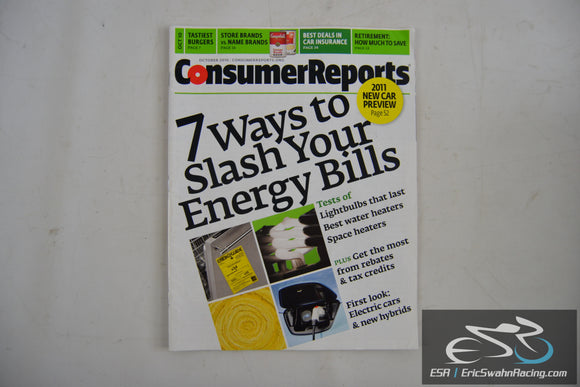 Consumer Reports Magazine - 7 Ways to Slash Your Energy Bills V75.10 Oct 2010